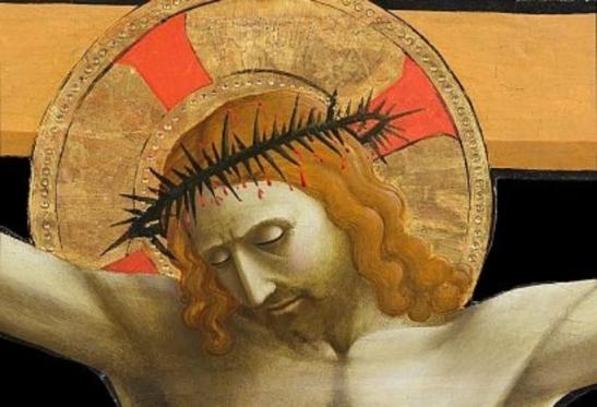 Cristo crocifisso - Beato Angelico (particolare)