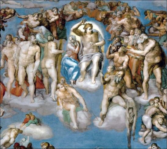 Michelangelo, The Last Judgment, 1536-41