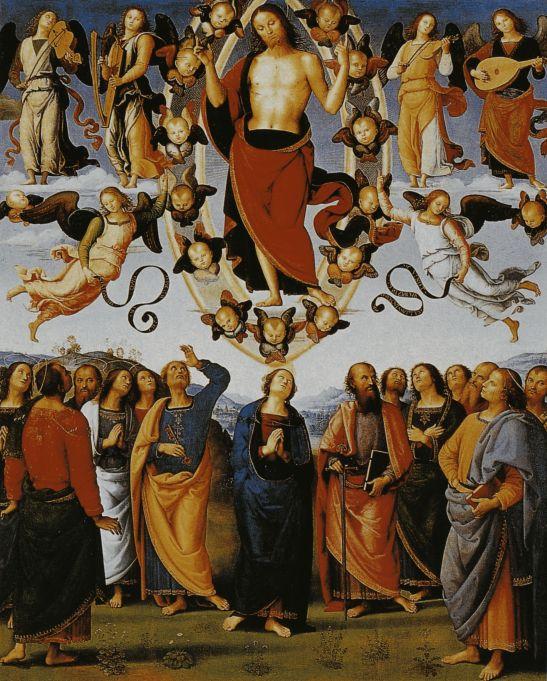Ascensione - Pietro_Perugino