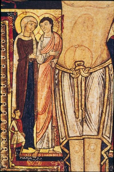 crocifisso che, in san Damiano, parlò a san Francesco