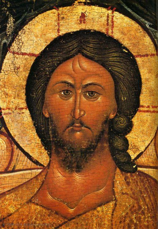 Cristo in maestà, seconda metà del XVI secolo, Rublev Museum di arte russa antica, Mosca