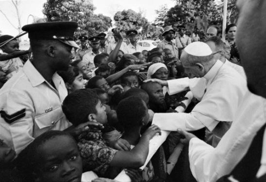 Paolo VI - En 1969, visite en Ouganda.