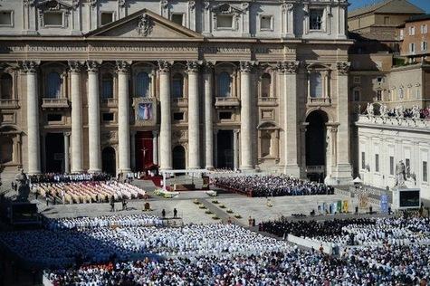 Paolo VI - Messe de béatification du pape Paul VI dimanche 19 octobre 2014.