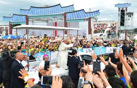viaggio del papa in corea 29