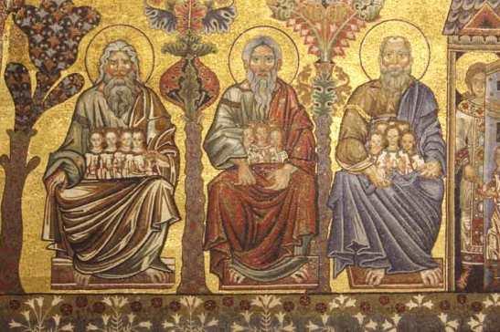 A árvore da vida - 8 - Abraao, Isac e Jacob