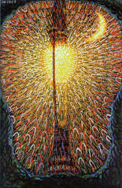 Giacomo Balla, Lampada ad arco, olio su tela, 1910-11