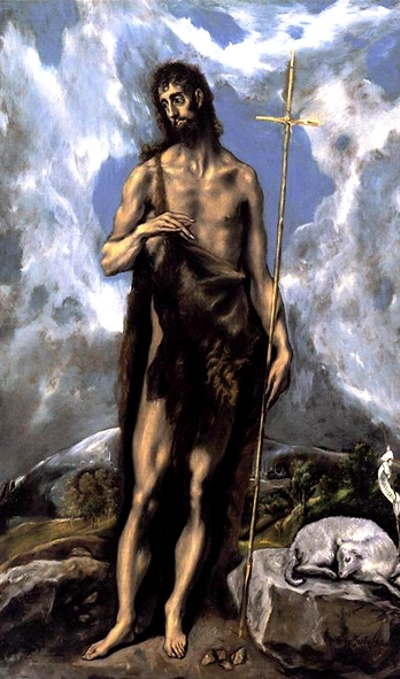 S. João Batista - El Greco