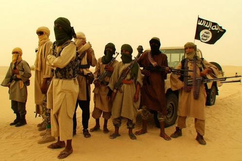 Terroristi islamisti legati alla Stato islamico in Libia