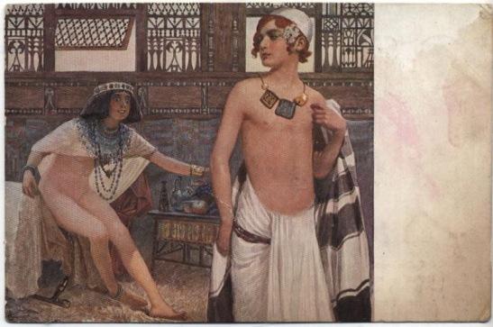 20 - Giuseppe di Egitto e la moglie di Potifar (Sergey_Solomko)