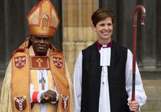 Consacrata la prima donna vescovo della chiesa d'Inghilterra, Libby Lane