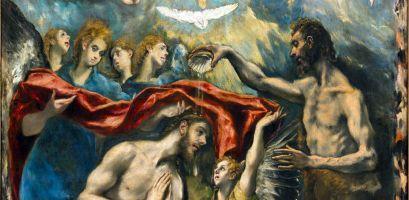 El Greco, Battesimo (particolare), 1596-1600, Museo del Prado, Madrid