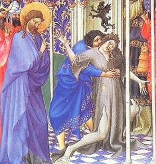 IV T.O. -  Jesus-expulsa-demonio-na-sinagoga