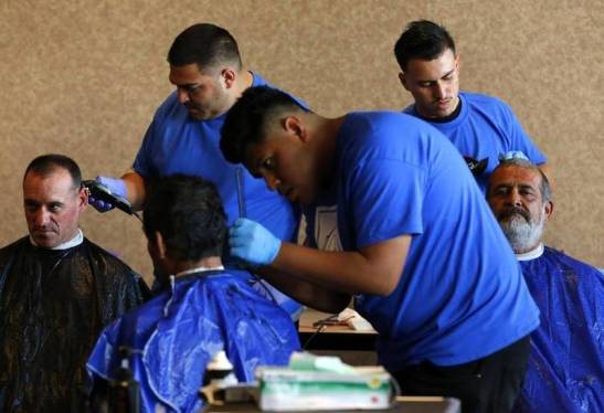 Showers and haircuts for the homeless coming soon at the Vatican