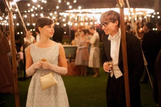 Un fotograma de la película 'La teoría del todo', basada en las memorias de Jane Hawking.