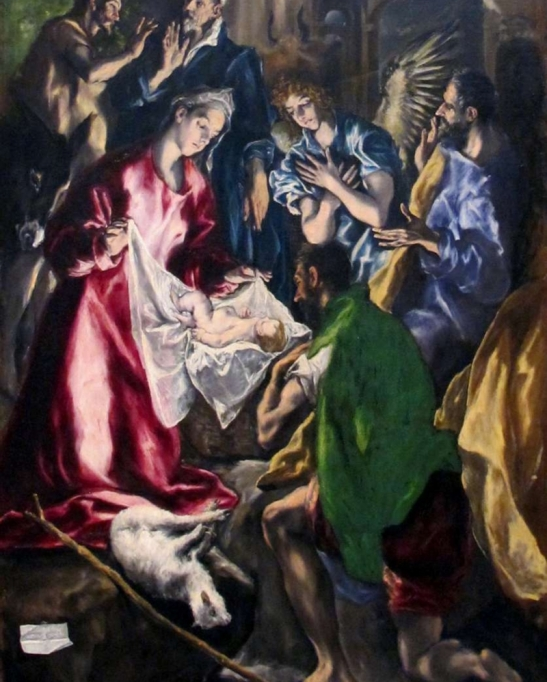 2 El Greco (1541–1614) Adorazione dei Pastori