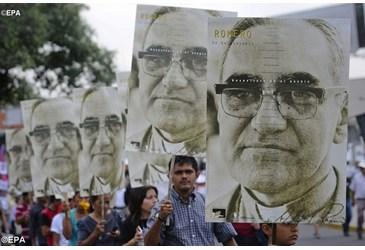Archbishop Oscar Romero, blessed and defender of the poor and justice