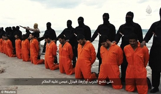 Beheading of 21 Coptic Christians
