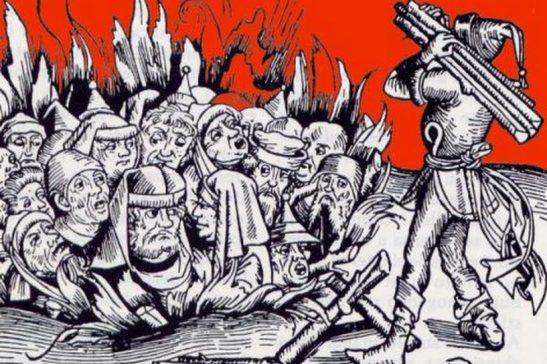 Furono i cristiani i primi a mandare al rogo le persone