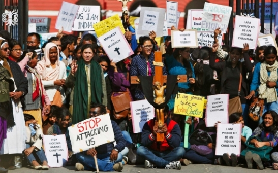 India, Hundreds of Indian Christians arrested during protest over church attacks