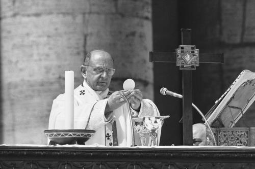 PAOLOVI - 50 anni fa la prima Messa in lingua italiana