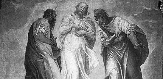 Quaresima II - Paolo Veronese, Trasfigurazione, 1555, cattedrale di santa Maria, Montagnana (Padova)