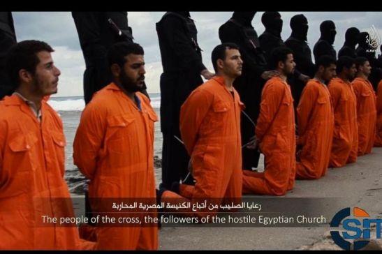 Trucidati dai jihadisti i 21 copti rapiti in Libia1