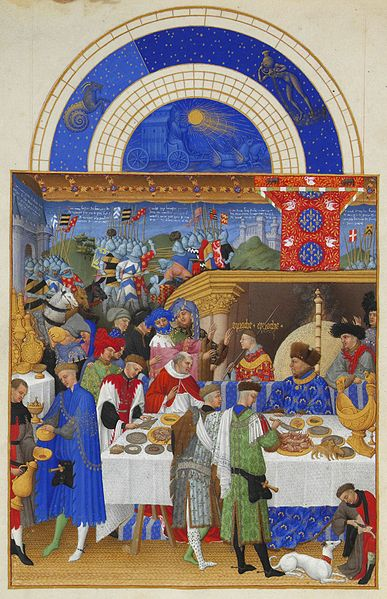 01. Fratelli Limbourg - Très riches heures – Gennaio