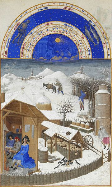 02. Fratelli Limbourg - Très riches heures – Febbraio