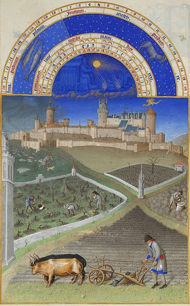 03. Fratelli Limbourg - Très riches heures – Marzo