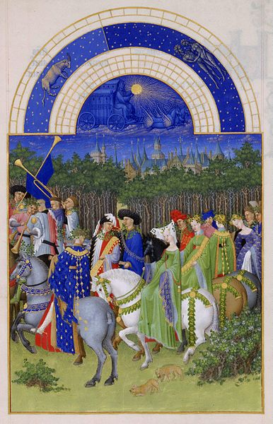 05. Fratelli Limbourg - Très riches heures – Maggio