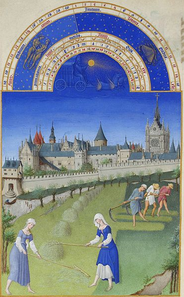06. Fratelli Limbourg - Très riches heures – Giugno
