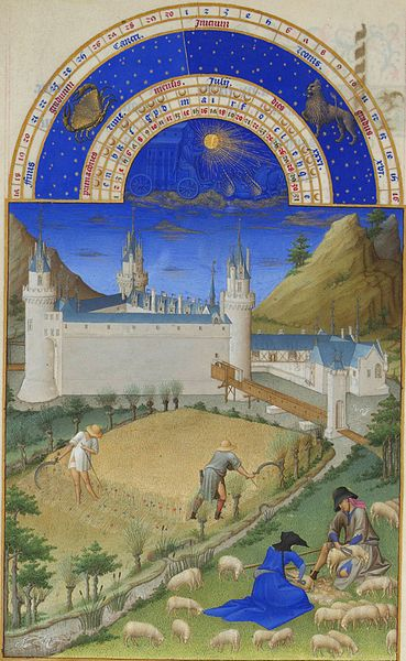 07. Fratelli Limbourg - Très riches heures – Luglio