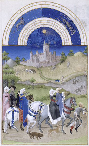 08. Fratelli Limbourg - Très riches heures – Agosto