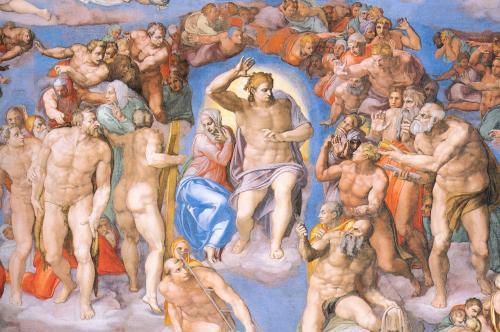 150 clochard col Papa nella Cappella Sistina