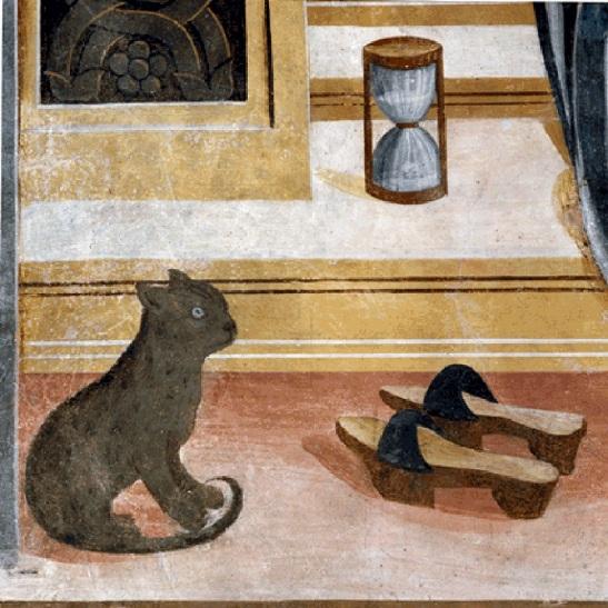 49.3 Lorenzo Lotto Data 1534 circa olio su tela 166×114 cm Museo civico Villa Colloredo Mels, Recanati