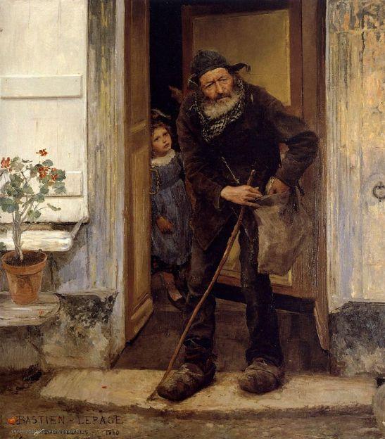 Bastien Lepage, Mendiant, 1880, Copenhagen