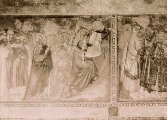 Bruni Andrea de' , Mosè riceve da Dio le tavole della legge