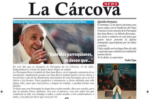 """El número de """"La Carcova news"""" con la entrervista"""