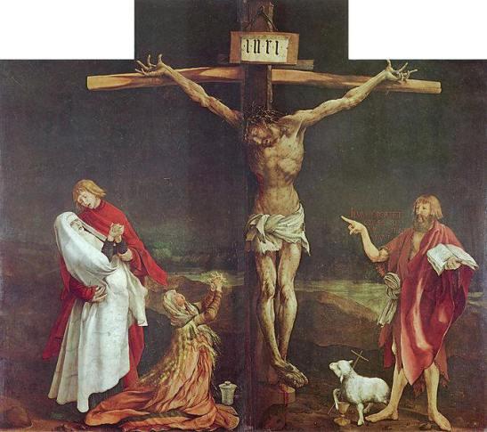 Matthias Grünewald -  Crocifissione 1