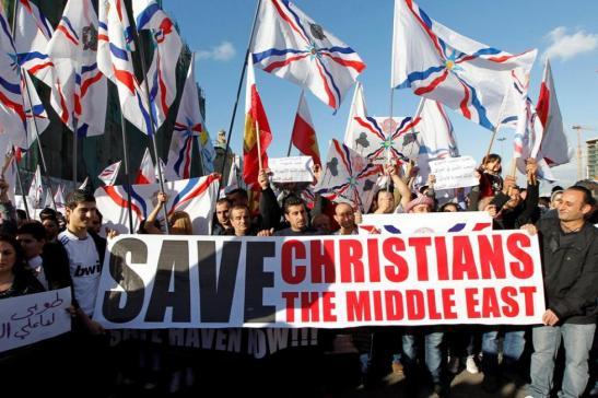 Papa condena «brutalidade intolerável» contra cristãos na Síria e Iraque