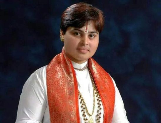 Deva Sadhvi Thakur, vice president of the All India Hindu Mahasabha,