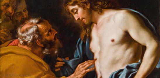 II PASQUA Daniel Seiter, Incredulità di Tommaso, 1700