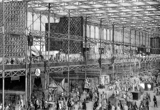 L'interno del Crystal Palace (The Crystal Palace and its contents, 1851)