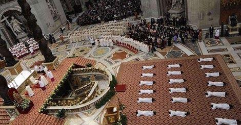 Le raccomandazioni del Papa per nuovi sacerdoti.