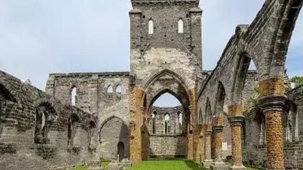 12. L'église inachevée de Saint-George aux Bermudes