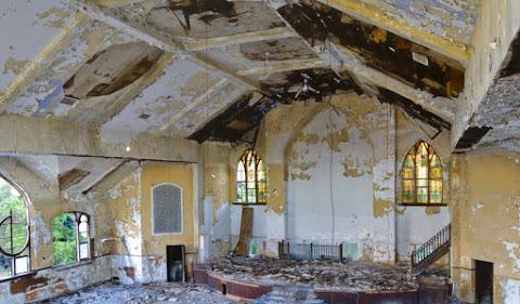 8. Une église de Détroit dans le Michigan