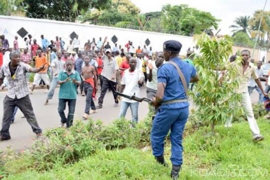 Burundi, Révolte contre Nkurunziza