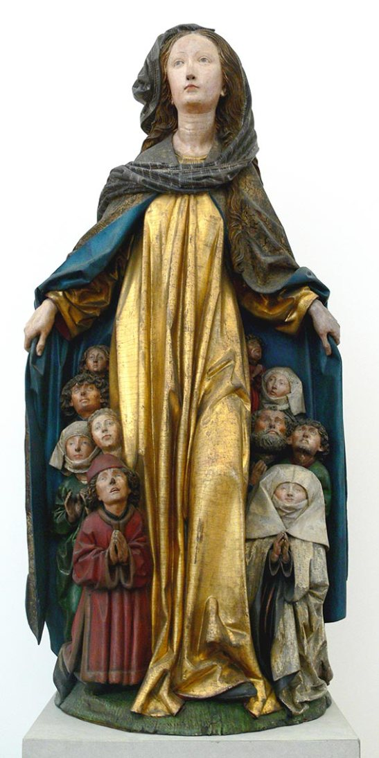 «Maria mit dem Schutzmantel», Madonna del manto.