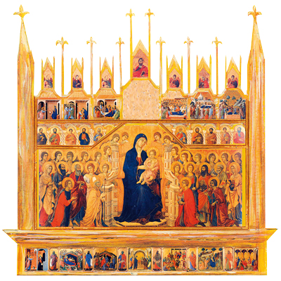 Duccio di Buoninsegna, la Maestà per antonomasia.