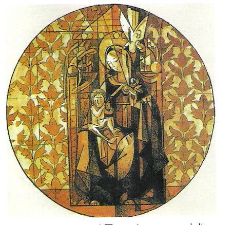 Floriano Bodini, Presentazione al tempio, della serie 'Il Rosario'